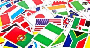日本や外国の国旗