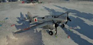ゲームWar Thunderの大日本帝國空軍航空機 二式複座戦闘機 甲型の画像