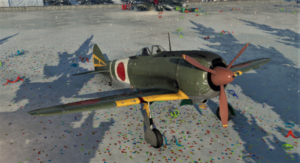 ゲームWar Thunderの大日本帝國空軍航空機 Ki-44-Ⅱ heiの画像