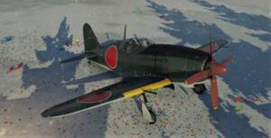 ゲームWar Thunderの大日本帝國空軍航空機 試製雷電の画像
