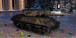 ゲームWar Thunderのアメリカ陸軍戦車 M10 対戦車自走砲の画像