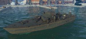 ゲームWar Thunderのアメリカ海軍軍艦 80 ft Nastyの画像