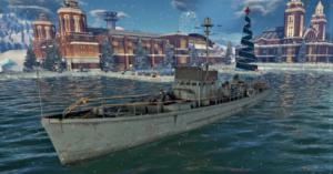ゲームWar Thunderのアメリカ軍艦軍艦 110 ft SC-497の画像