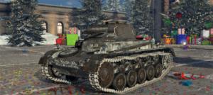 ゲームWar Thunderのドイツ陸軍戦車 二号戦車 C 型の画像