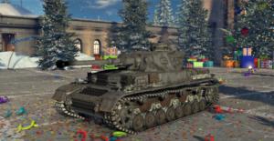 ゲームWar Thunderのドイツ陸軍戦車 Ⅳ 号戦車 F2 型の画像