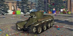 ゲームWar Thunderのソビエト連邦陸軍戦車 BT-5の画像