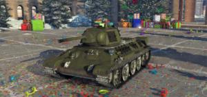 ゲームWar Thunderのソビエト連邦陸軍戦車 T-34 (1942)の画像