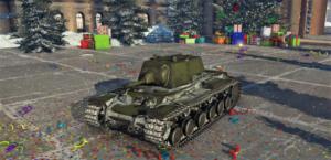 ゲームWar Thunderのソビエト連邦陸軍戦車 KV-1の画像