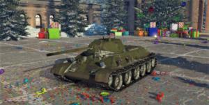 ゲームWar Thunderのソビエト連邦陸軍戦車 T-34-57の画像