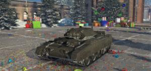 ゲームWar Thunderのイギリス陸軍戦車 Crusader Mk Ⅱの画像
