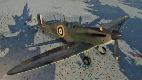 イギリスのスピットファイアMk.1aが超強い件|個人的に低BR最強機体【War Thunder】