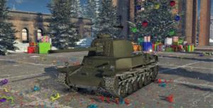 ゲームWar Thunderの大日本帝國陸軍戦車 四式中戦車の画像