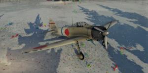 ゲームWar Thunderの大日本帝國空軍航空機 零戦一一型の画像