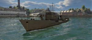 ゲームWar Thunder大日本帝國海軍 五式木製大護衛艇乙型の画像