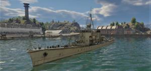 ゲームWar Thunder大日本帝國海軍 軍艦 第一号型駆潜艇の画像