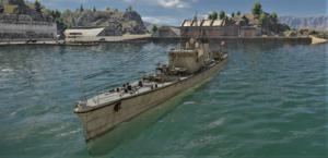 ゲームWar Thunder大日本帝國海軍 軍艦 第四号型駆潜艇の画像