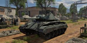 ゲームWar Thunderの大日本帝國陸軍戦車 M24の画像
