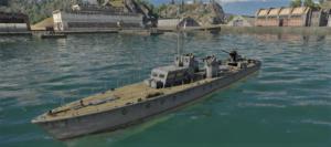 ゲームWar Thunderのソビエト連邦海軍軍艦 OD-200の画像