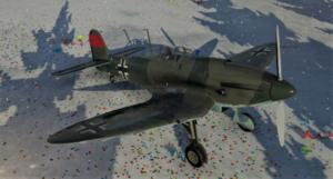 ゲームWar Thunderのドイツ空軍航空機 He 112 B-0の画像