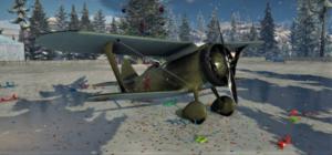 ゲームWar Thunderのソビエト連邦空軍航空機 I-15 WRの画像