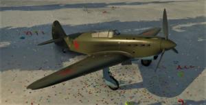 ゲームWar Thunderのソビエト連邦空軍航空機 Yak-1の画像