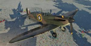 ゲームWar Thunderのイギリス空軍航空機 スピットファイア Mk.Ⅰの画像