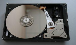 ハードディスクの画像