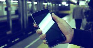 スマホなどの携帯端末の画像