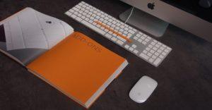 マウスやキーボードなど、入力する装置の画像