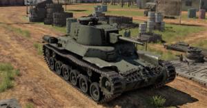 ゲームWar Thunderの中国陸軍戦車 九七式中戦車改の画像