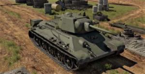 ゲームWar Thunderの中国陸軍戦車 T-34(1943)の画像