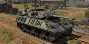 ゲームWar Thunderの中国陸軍戦車 M10の画像