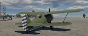 ゲームWar Thunderの中国空軍航空機 I-153 M-62の画像