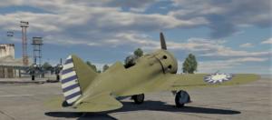 ゲームWar Thunderの中国空軍航空機 I-16 type 10の画像