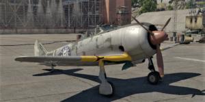 ゲームWar Thunderの中国空軍航空機 Ki-44-Ⅱ heiの画像