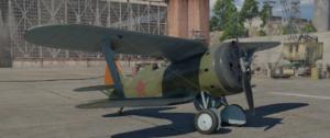 ゲームWar Thunderのソビエト連邦空軍航空機 I-153 M-62の画像
