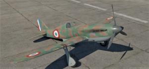 ゲームWar Thunderのフランス空軍航空機 V.G.33C-1の画像