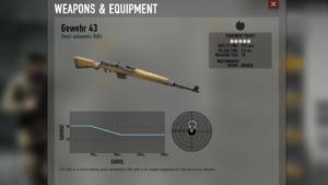 Herose & Generalsのドイツ軍Gewehr 43