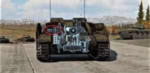 ゲームWar Thunder 三号突撃榴弾砲G型の弾薬